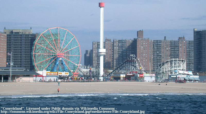 Family trip to Coney Island NY